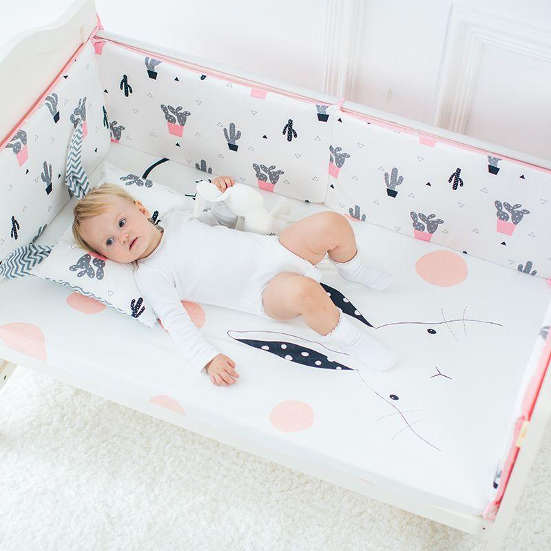 Baby Bettwäsche Krippe Spannbetttuch Reiner Baumwolle Weichen Baby ...