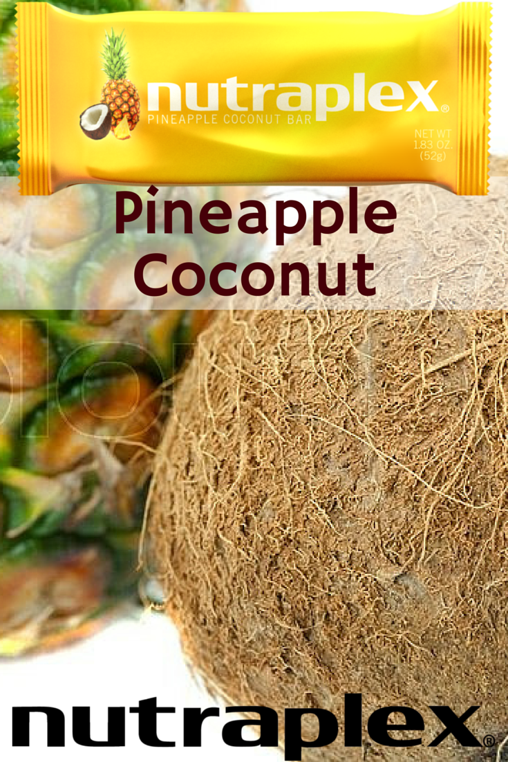 Pineapple Coconut wows with coconut, cashews, dates, honey,  almonds, and pineapple, for starters.