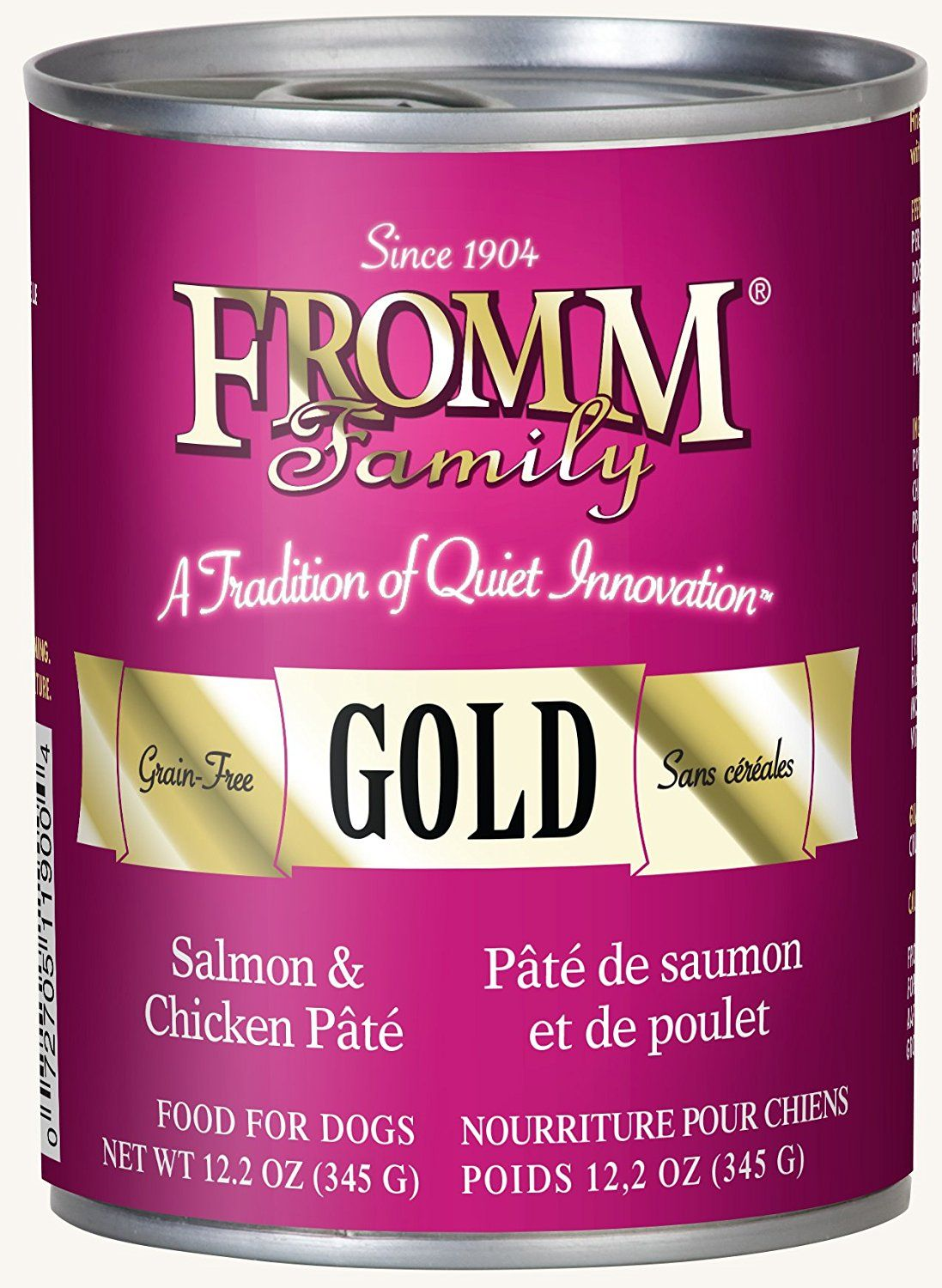Fromm Gold Salmon and Chicken Pâté 12.2oz / case of 12