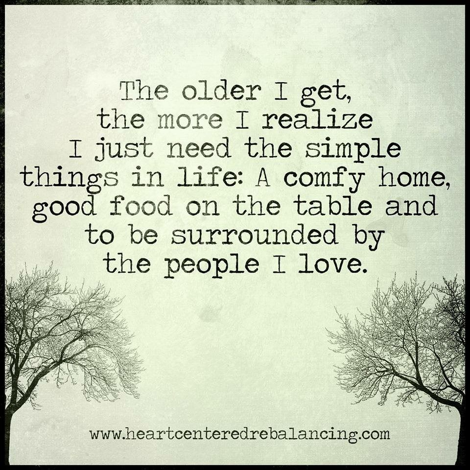 I Just Need The Simple Things In Life A Comfy Home Good Food And People I Love Simple Life Quotes Simple Quotes Simple Love Quotes