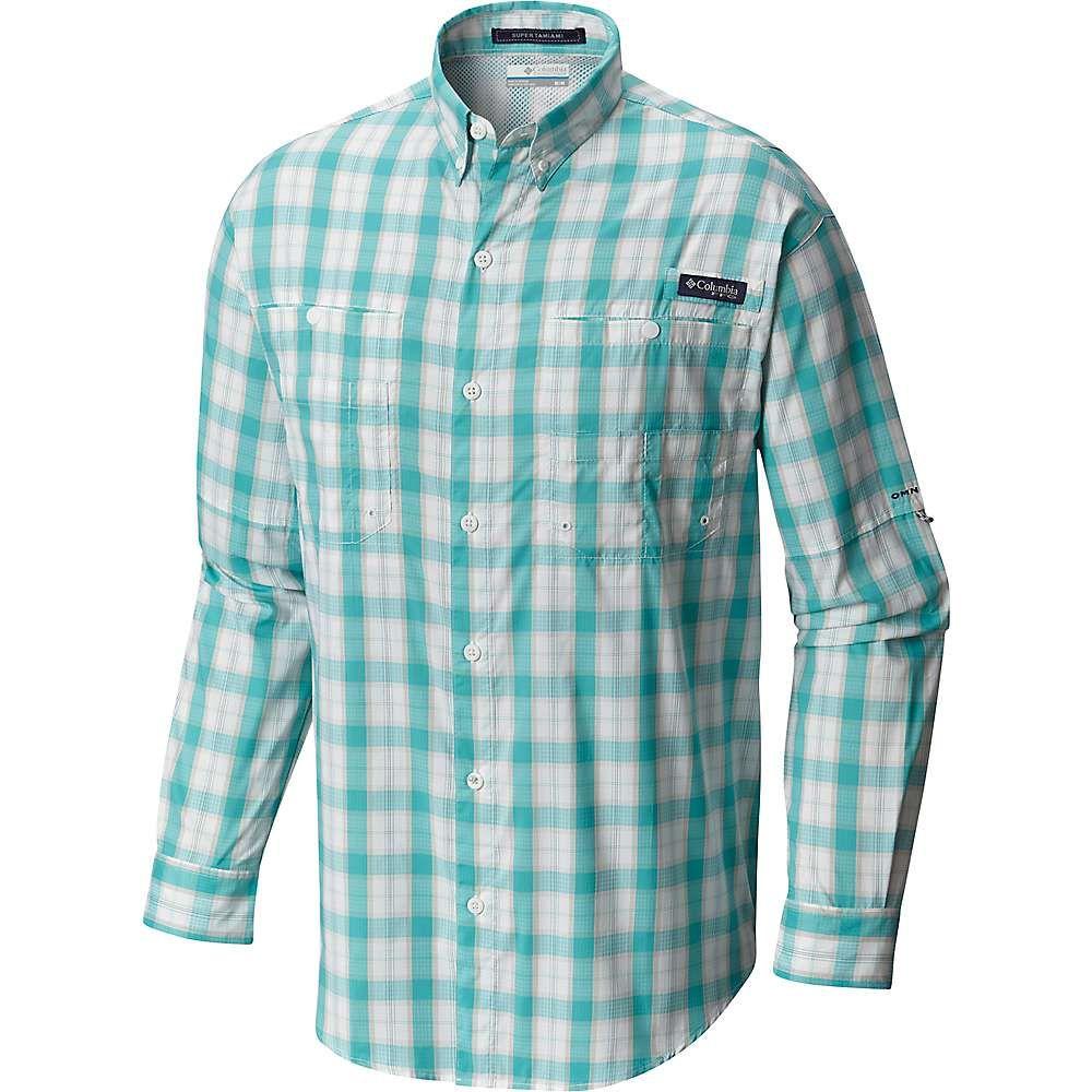 0d92606a7cf Columbia Men's Super Tamiami LS Shirt - XL - Miami Plaid | Products ...