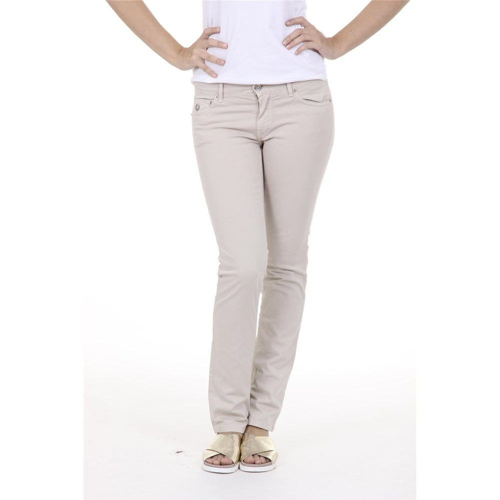Beige 28 US - 38 EUR Fred Perry Womens Trousers 31502599 7001