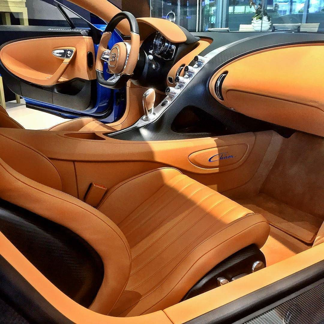 Inside the ultra exclusive Chiron Photo by chasezimmerman