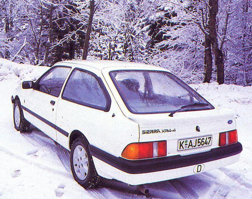Ford Sierra Xr4x4 3 Door May 1985 Ford Sierra Car Ford Ford