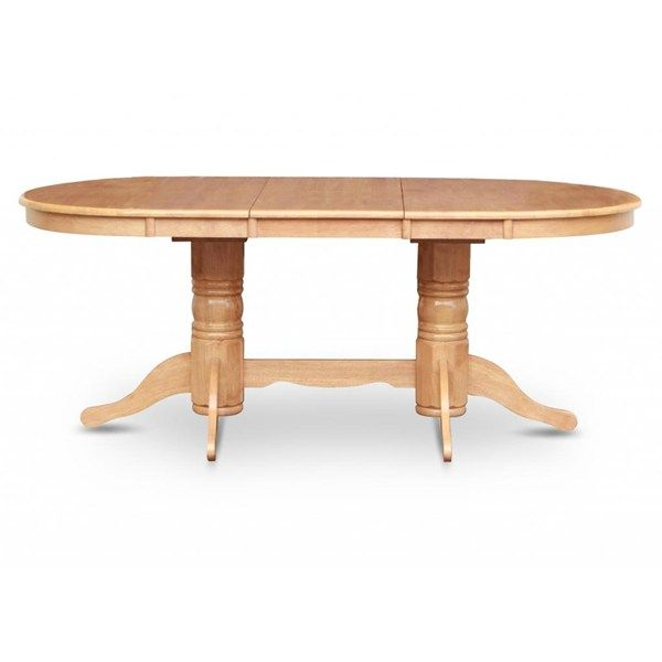 Simply Casual Vancouver Oval Double Pedestal Dining Table With 17 Butterfly Leaf The Simple Stores This One Is A Prett Pedestal Dining Room Table