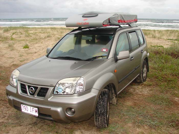 Kimberley Mycube on Nissan X Trail Xtrail Nissan