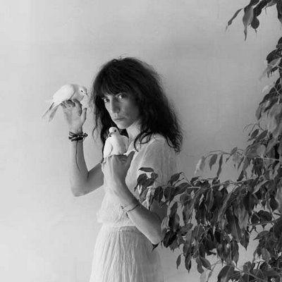 Patti Smith by Mapplethorpe.