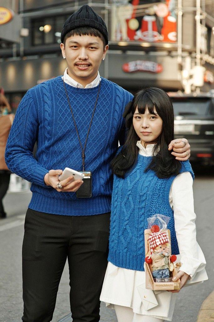 korean couples matching