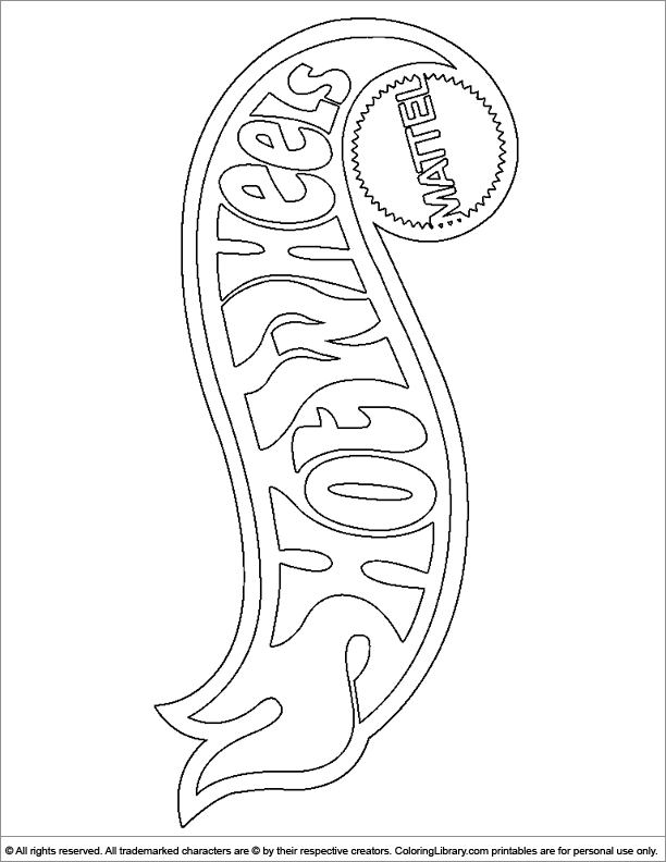 Hotwheels coloring pages in the Coloring Library | coloring book ...