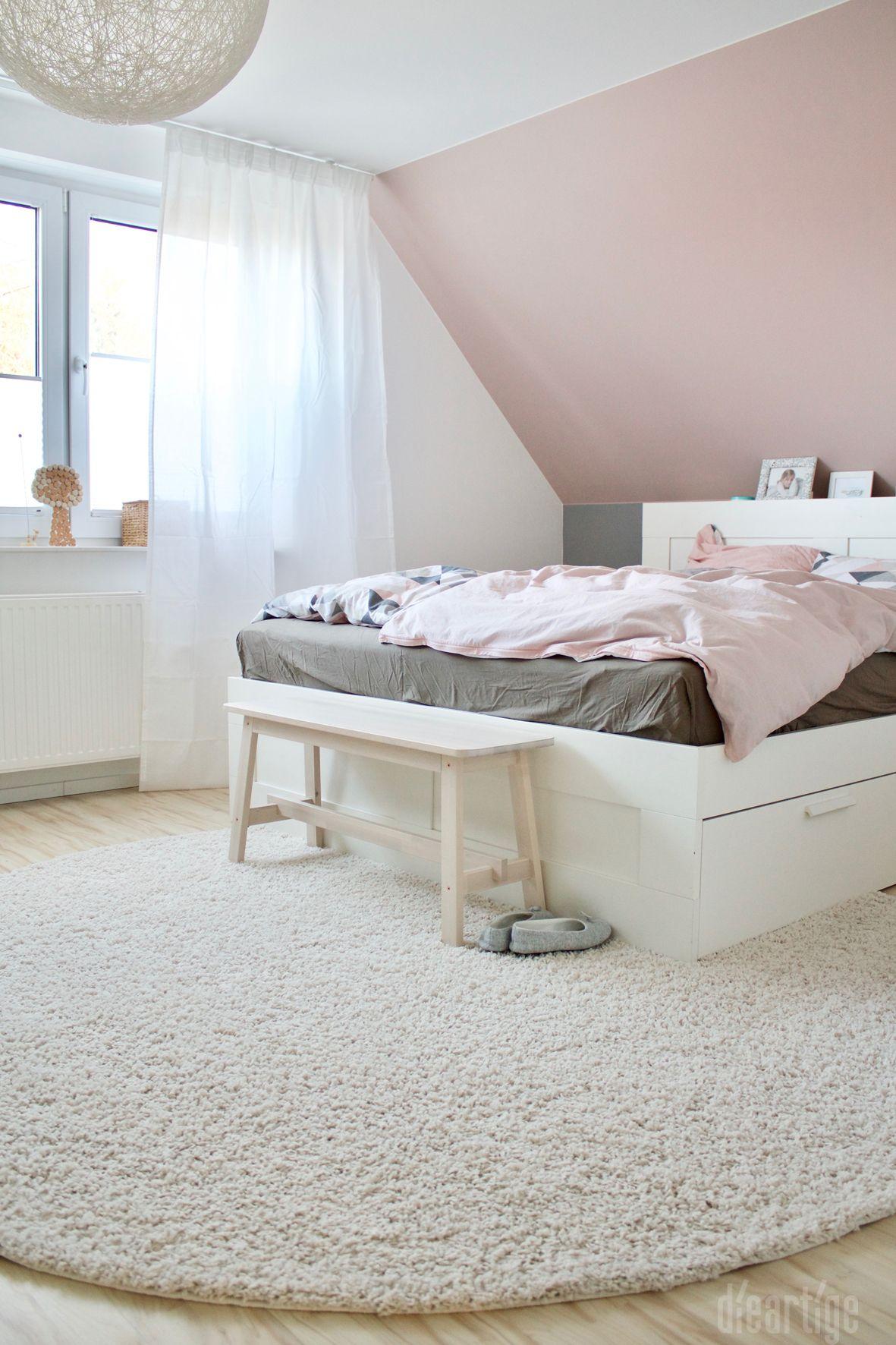 Z. | Schlafzimmer | Rosé, Grau, Weiß