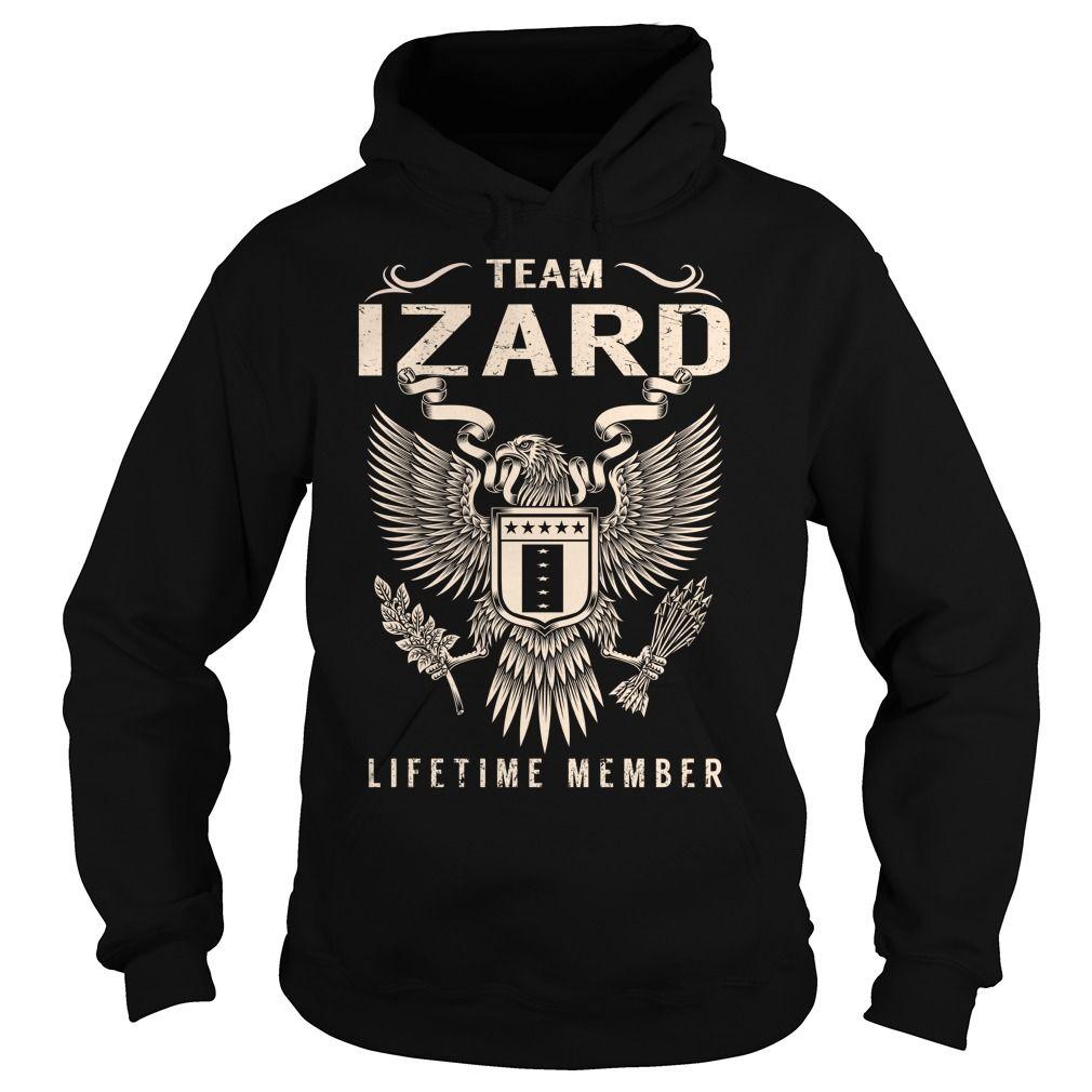 Team IZARD Lifetime Member - Last Name, Surname T-Shirt