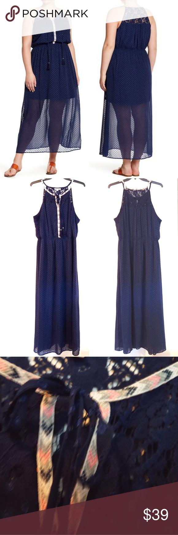 2x Dr2 By Daniel Rainn Navy Blue Maxi Dress Navy Blue Maxi Dress Maxi Dress Dresses [ 1740 x 580 Pixel ]