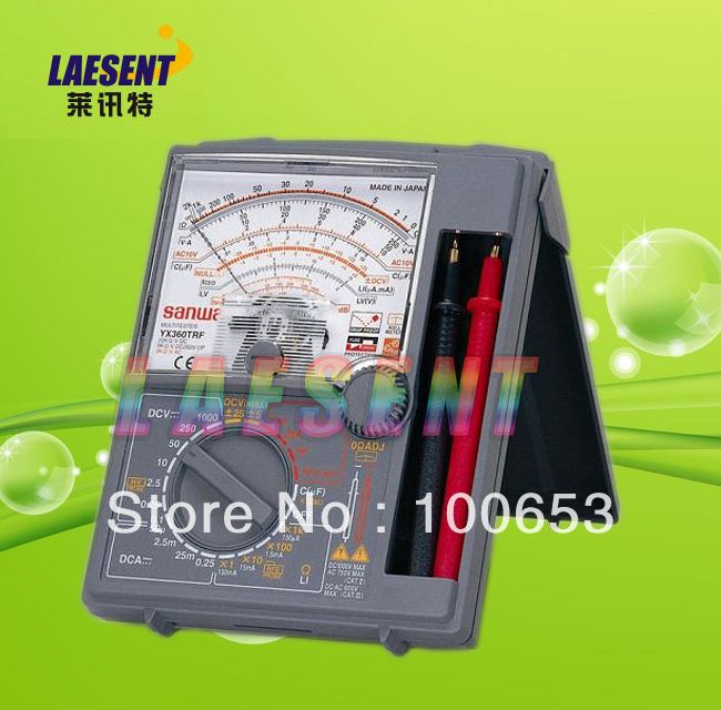 Sanwa YX-360TRF Analog Multimeter Tester YX360TRF   Tools