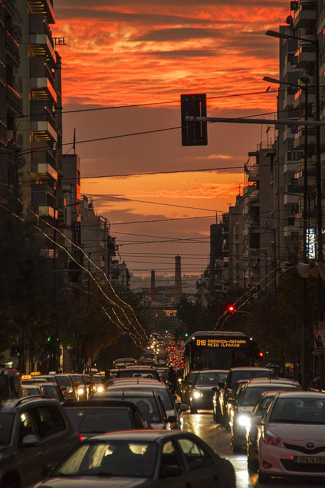 Athens, Greece by Yiannis Marmaras / 500px