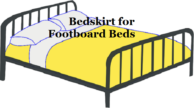 How To Use A Bedskirt With A Footboard Chanap Headboard