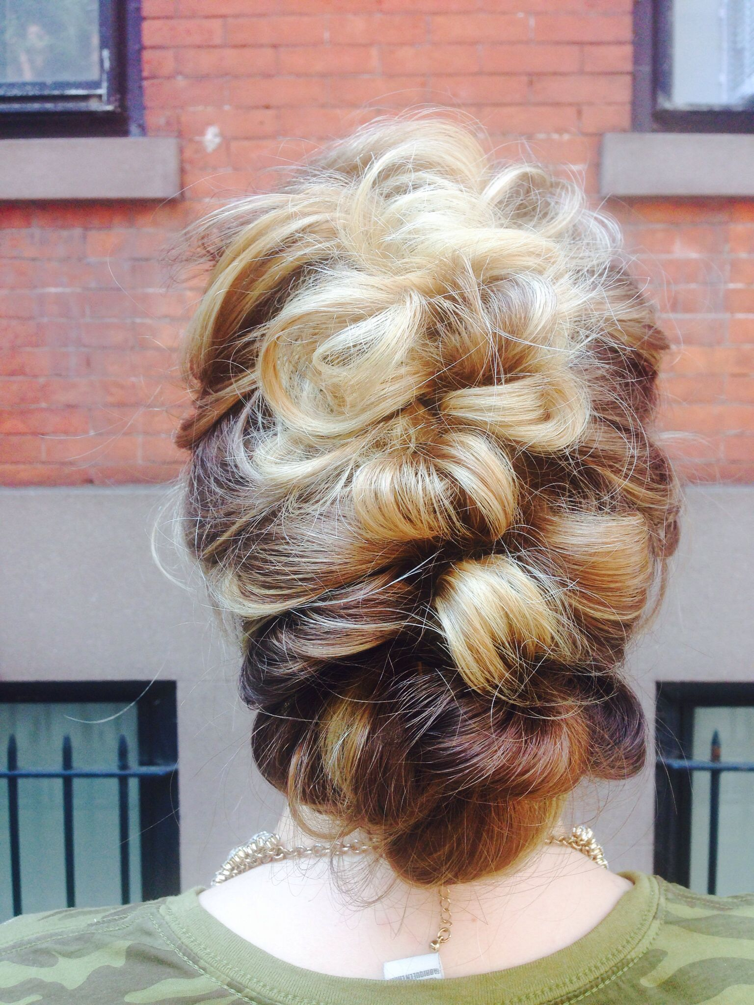 Romantic updo, loose braid, BRAIDS, hairstyles for long ...