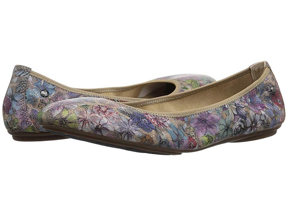 Hush Puppies Chaste Ballet (Hygee Floral Suede) Women's Flat