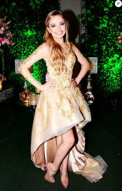 4d13912ec Giovanna Chaves vestidos, festa 15 anos | 15 anos da Mel | Festa de ...