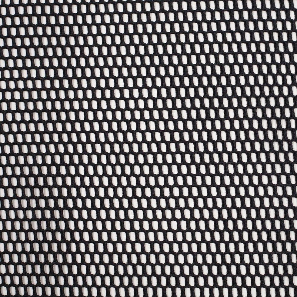 Black Polyester Wonder Mesh Fabric Envy Mesh Fabric