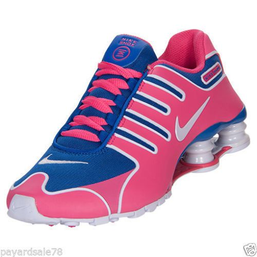 womens nike shox current pink blue