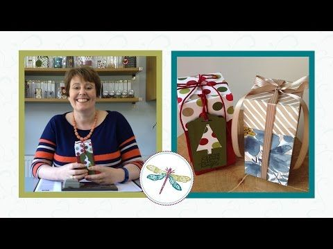 Video Tutorial make a box using the Gift Bag Punch Board :: Inspiring Inkin' - Order Stampin' Up! Online 24/7 from Top Independent Stampin' Up! UK Demonstrator Amanda Fowler