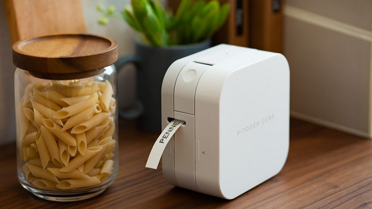 This Brother Ptouch Cube is for an extremely organized