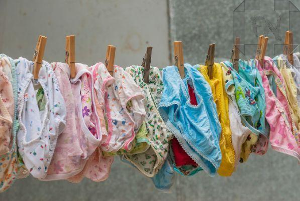 Worn And Used Girls Panties Gif