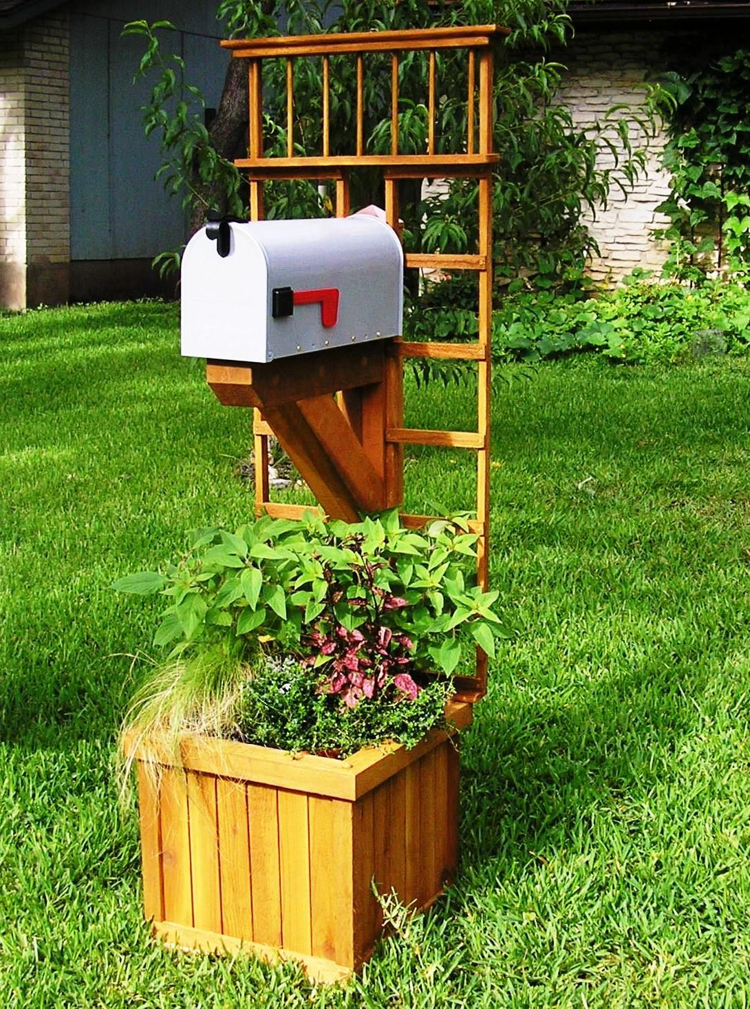 mailbox garden dress yard