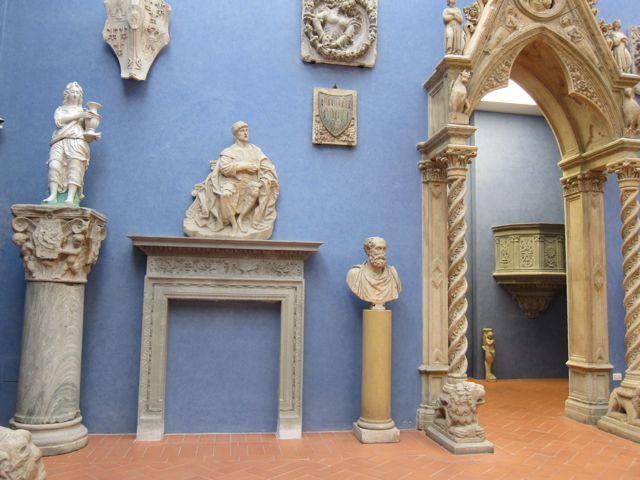 Museo stefano bardini firenze una stravagante collezione di elementi architettonici - Elementi architettonici di una chiesa ...