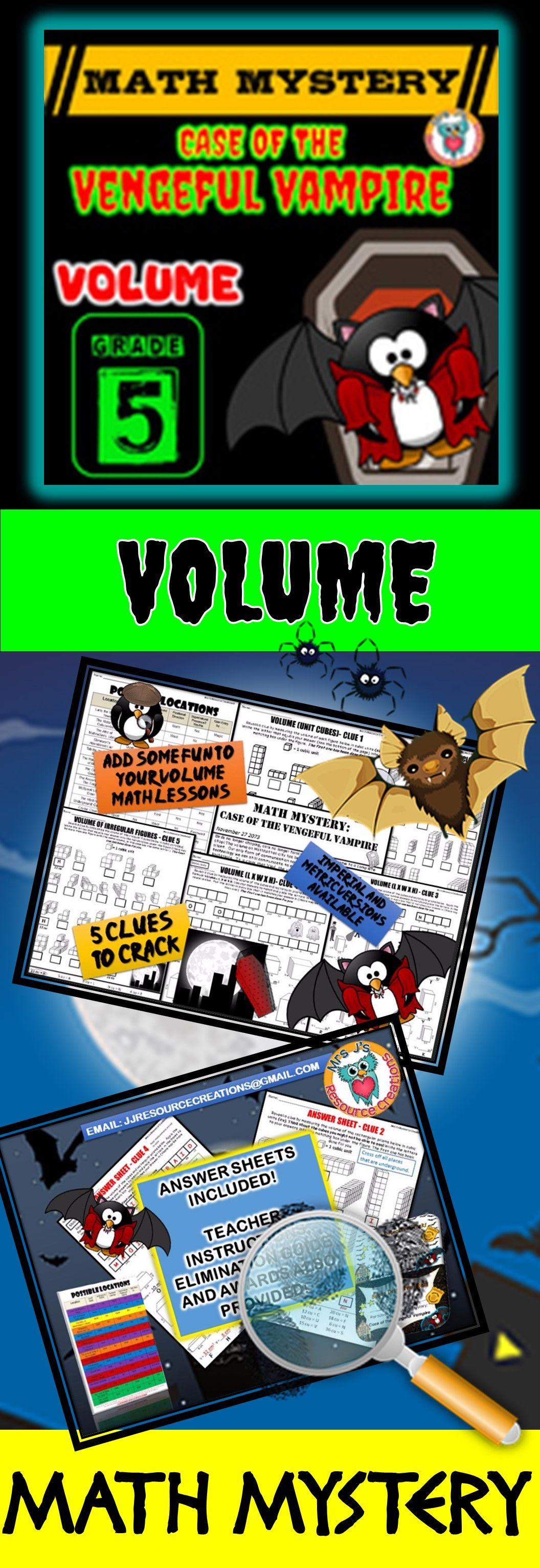 Volume Math Mystery