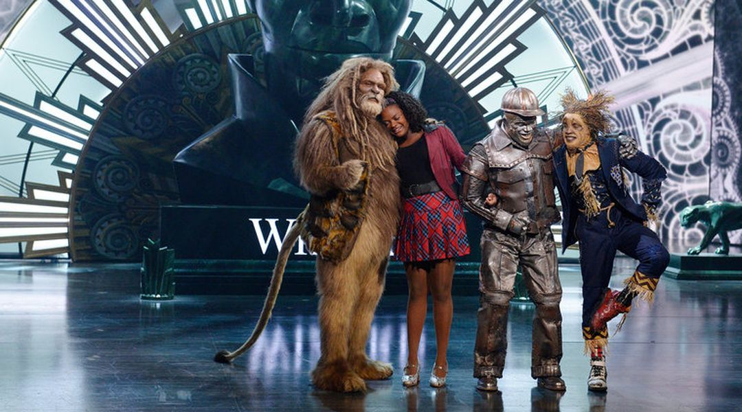 NBC's the Wiz was one of the best, most inventive television events of the year