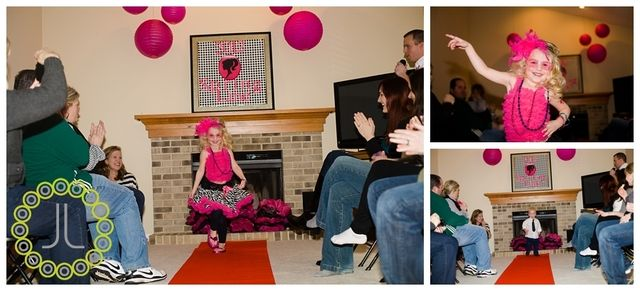 Fashion Show birthday party...Kinsley's 5th for sure!!!