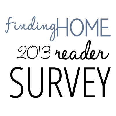 2013 READERS SURVEY Taking a Different Turn and Asking a Favor