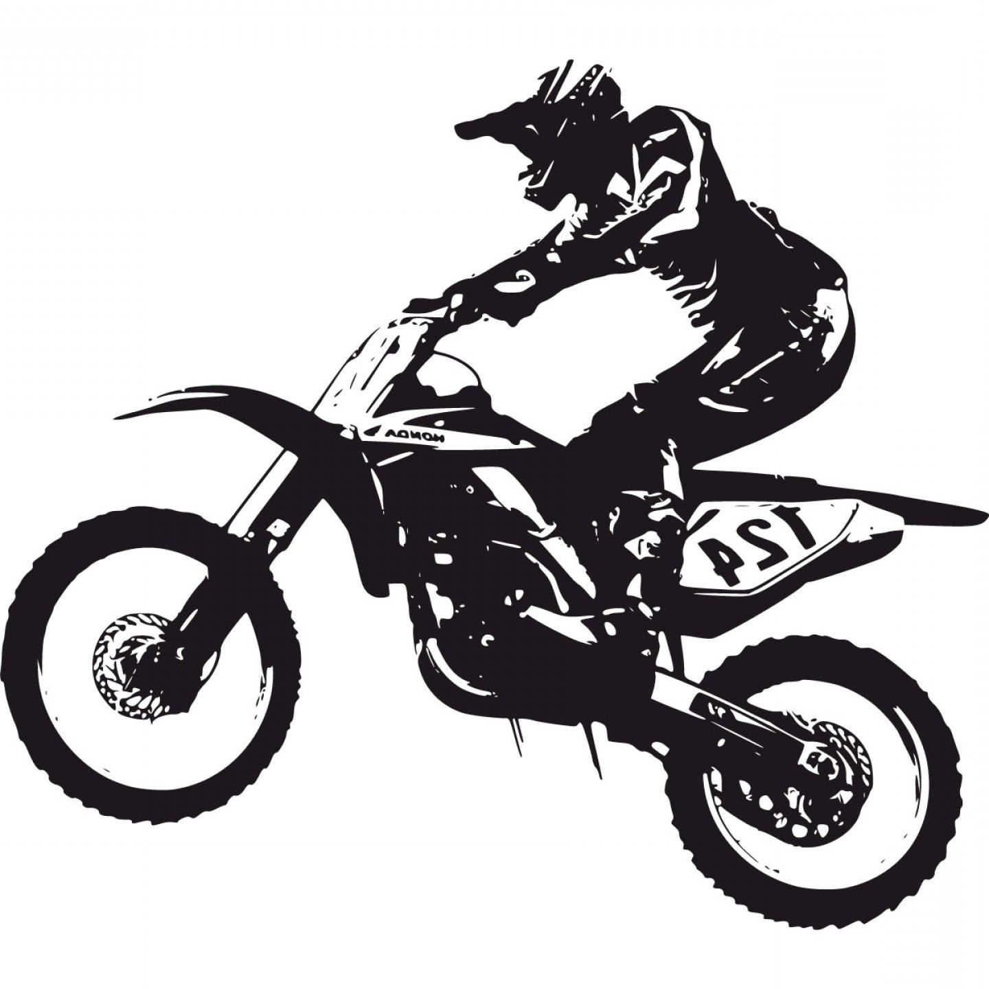 hight resolution of best dirt bike vector draw exclusive blue dirt bike cliparts draw
