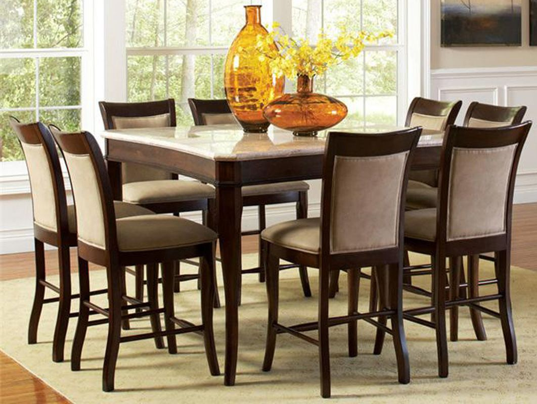 Attractive Dining Room Tables 9 Piece