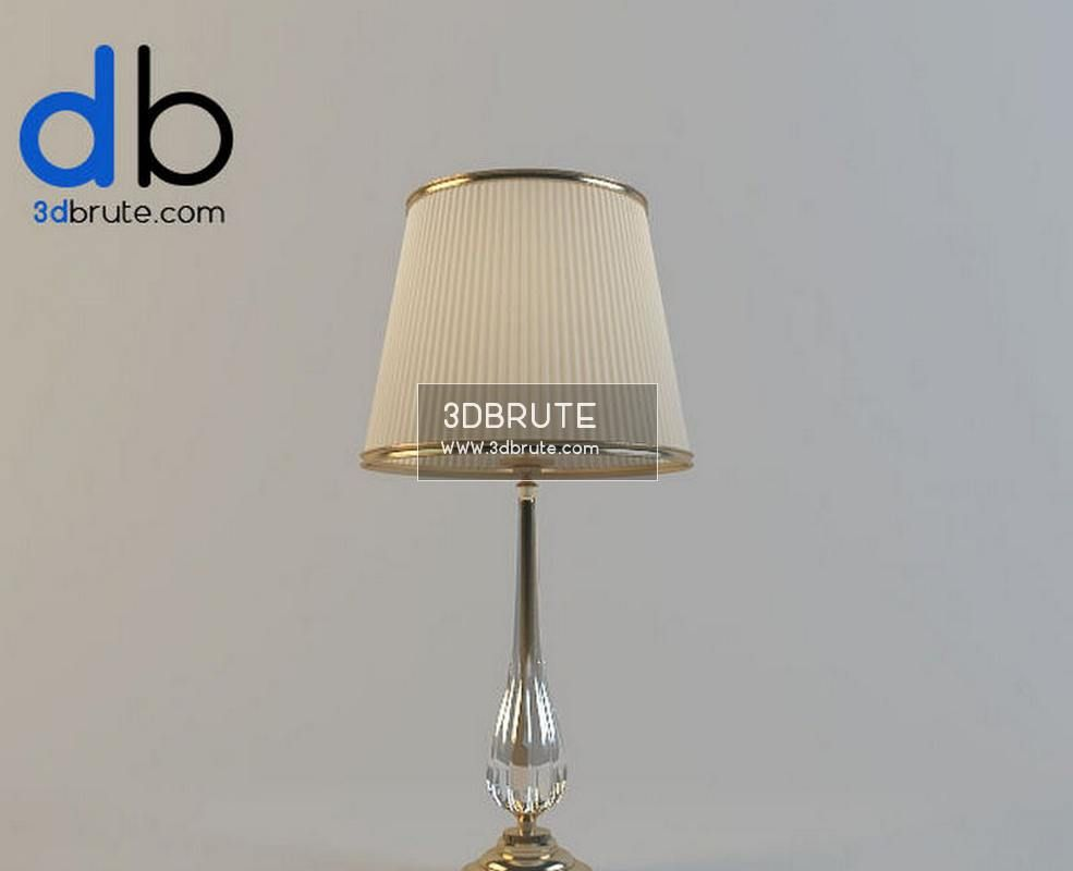 20 Table Lamp 3dmodel Lamp Table Lamp Light