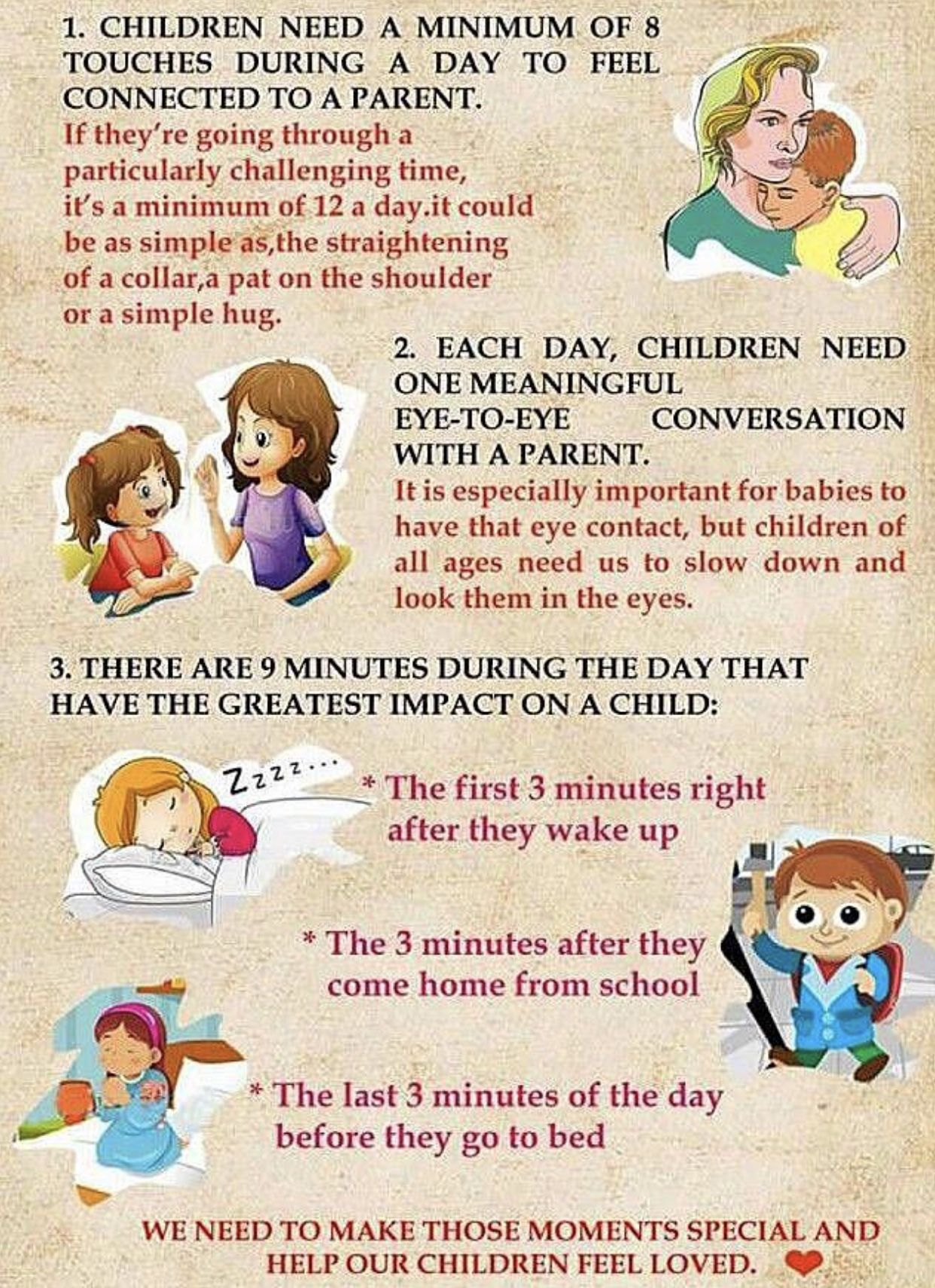 3 Important Times Of Day For Children