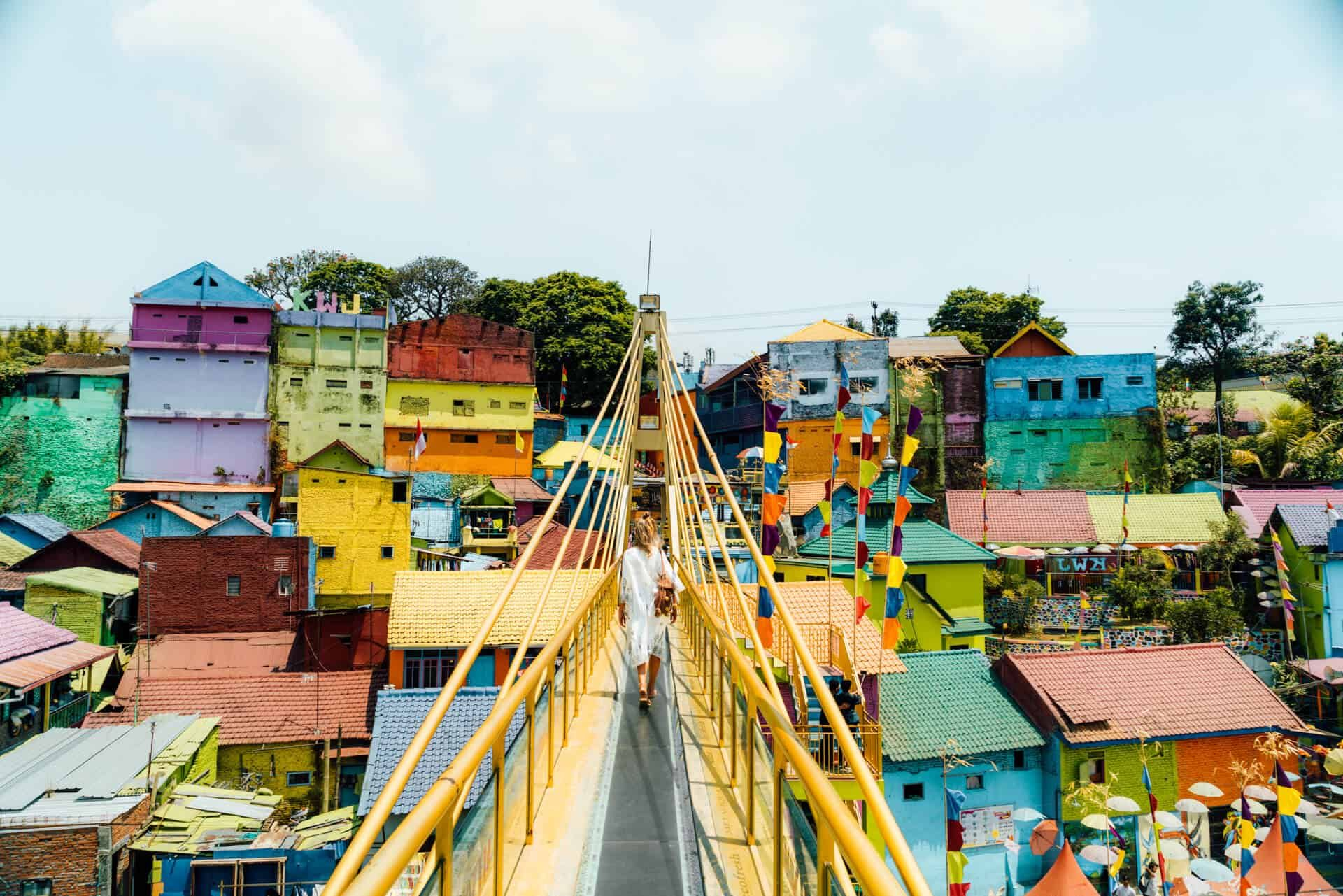 Colorful Rainbow Village In Malang A Must Visit In Java Indonesia Malang East Java Java