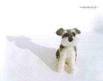 Fleece Dogs Wool Needle Felting Craft Ebook / PDF / Patterns: Instant Download