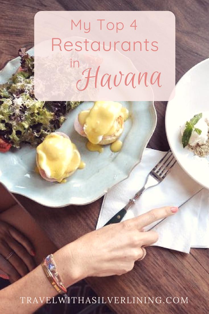 Top places to eat in havana cuba