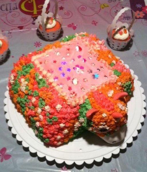 Dream light cake
