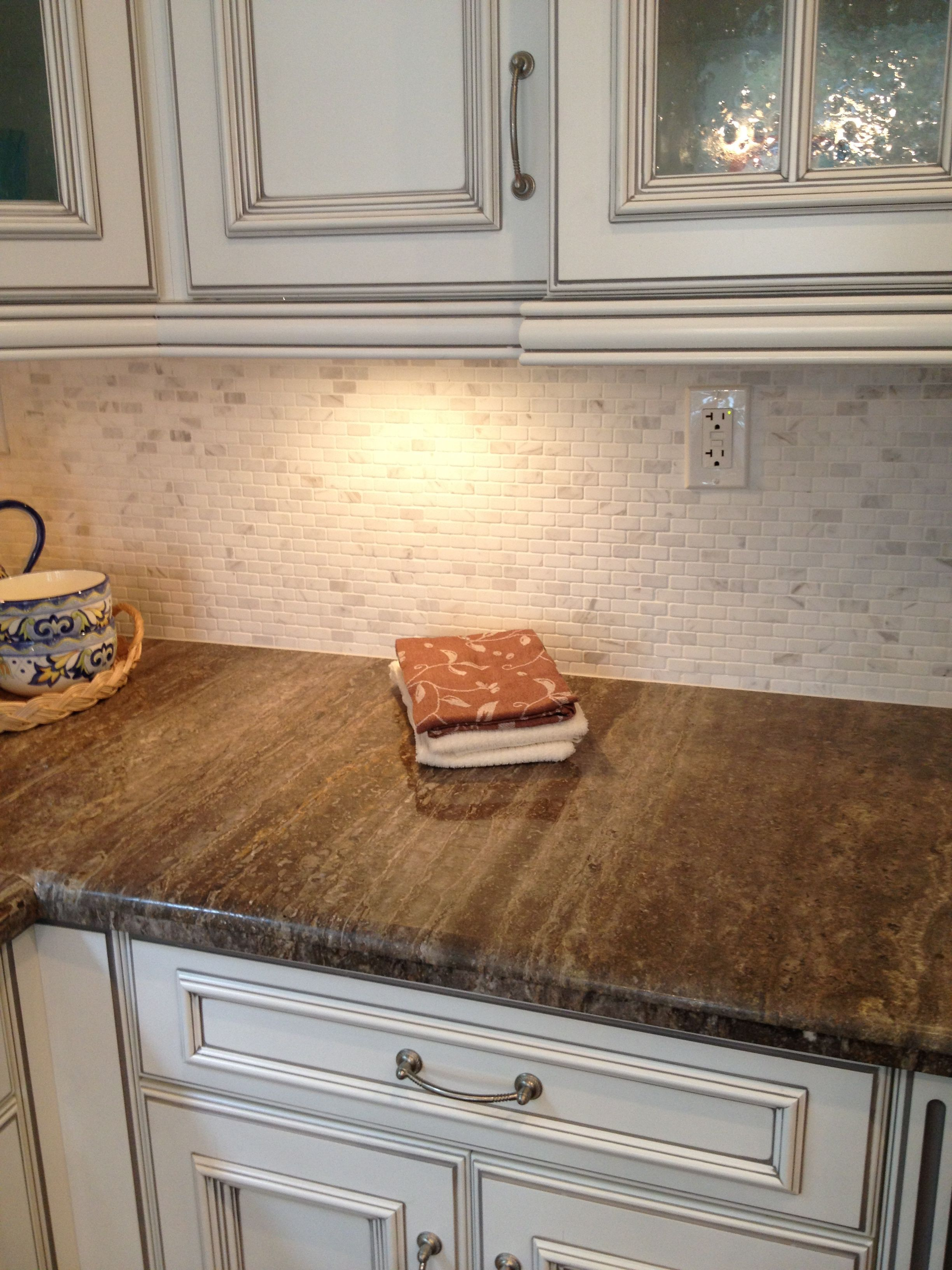 Easy Kitchen Backsplash Corner Drawer Cabinet Like Simple Stone In Home Sweetest
