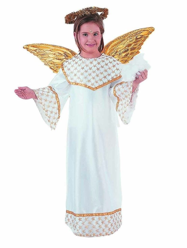 disfraz de angel de navidad para nia o nio de a aos