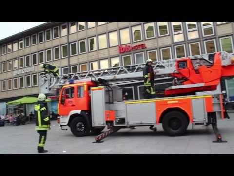 [Rauchentwicklung] Kölner Hauptbahnhof Feuerwehr rückt an