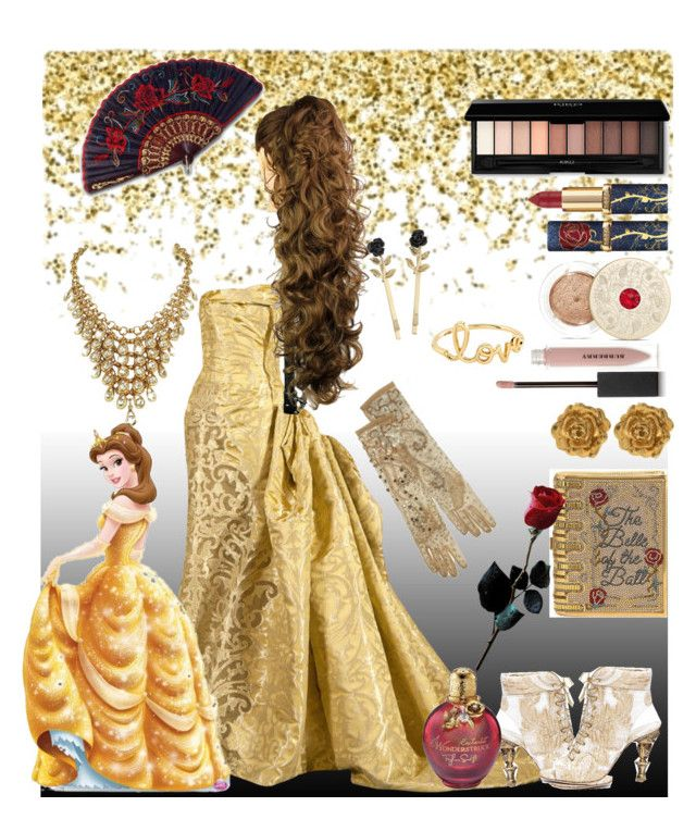 """""""Beauty And The Beast"""" by slytherin-pirate-chick ❤ liked on Polyvore featuring Judith Leiber, Liberty, Burberry, Sydney Evan, Derercuny, Miss Selfridge and Bare Escentuals"""