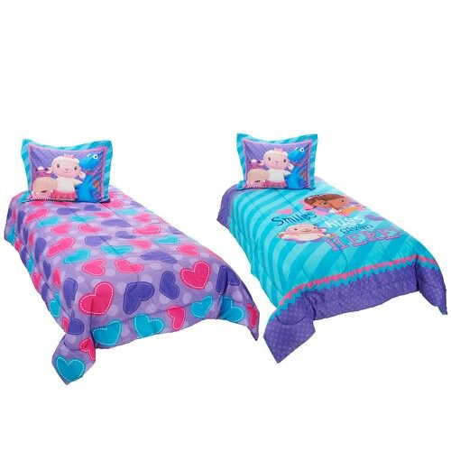 doc mcstuffins bedding from toysrus  twin comforter sets