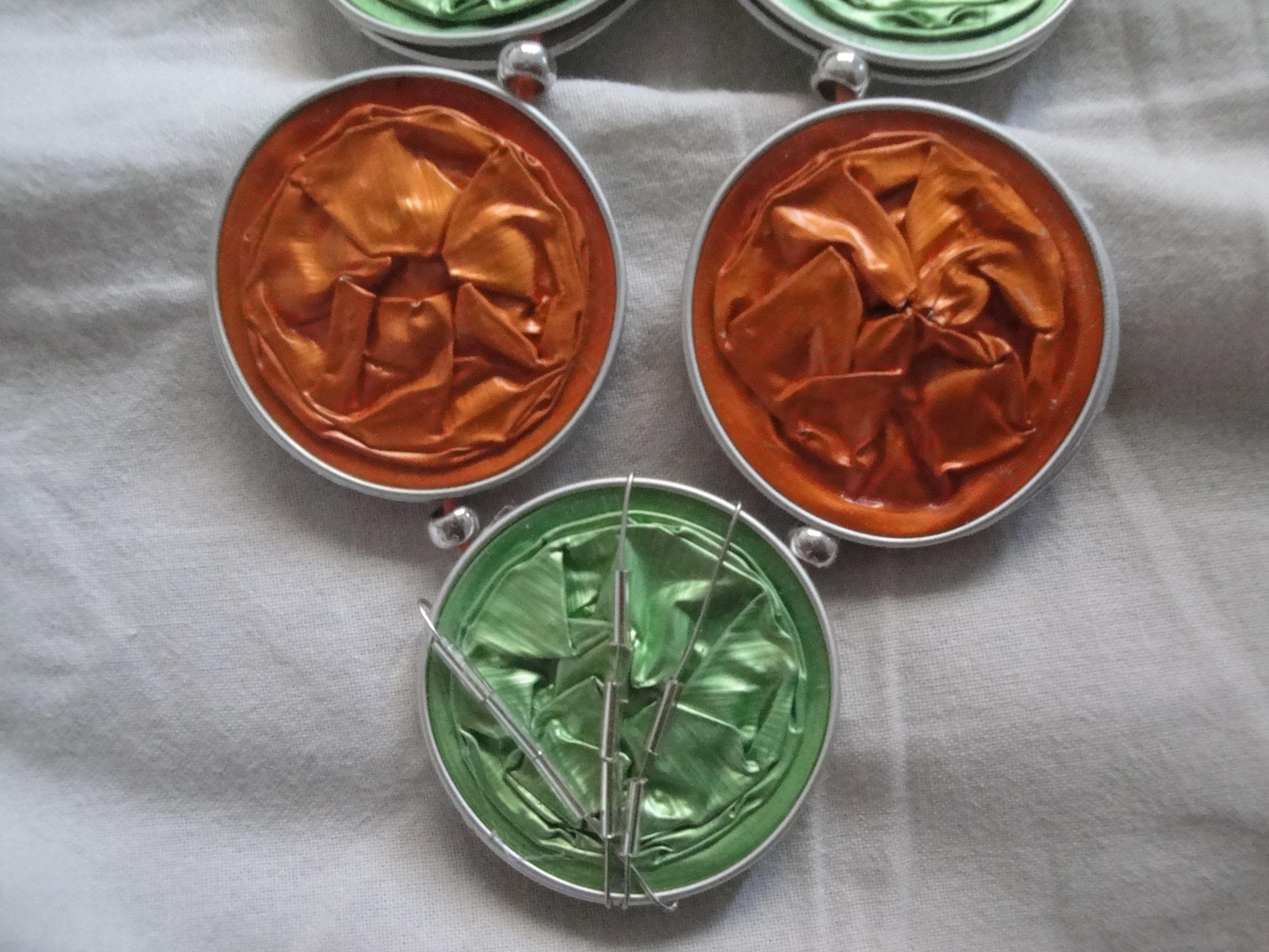 Pillsbury's Pieces No. 111 - necklace.  Detail.