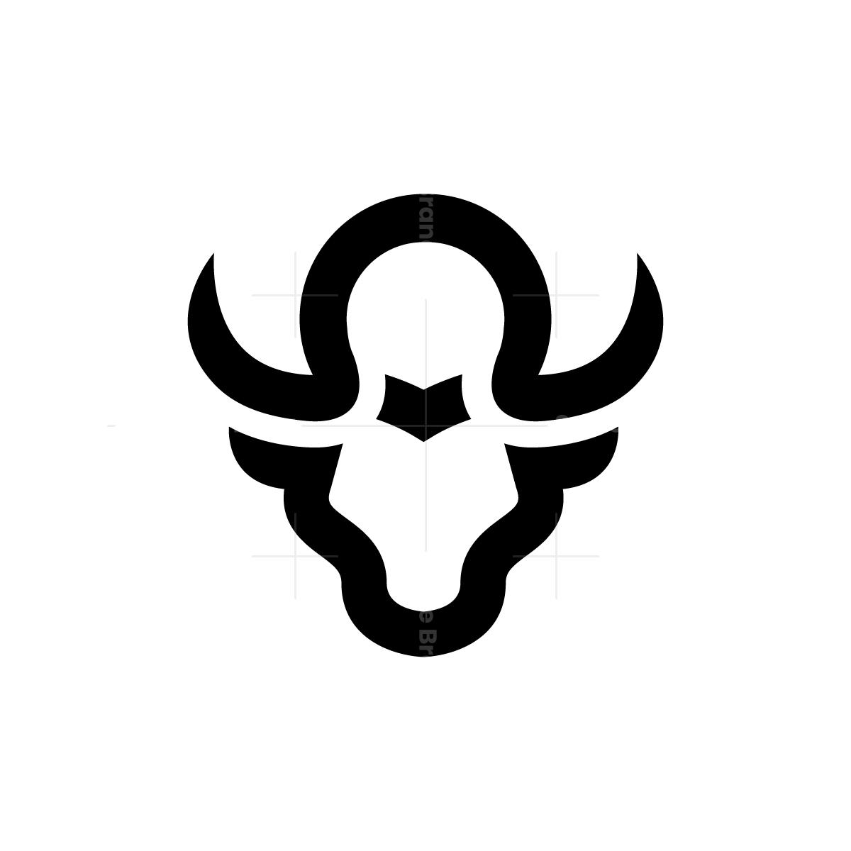 Omega Bull Logo Bull Logo Dragonfly Logo Symbol Design