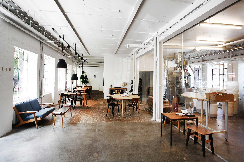 The Coffee Collective Cafe interior, Contemporary home