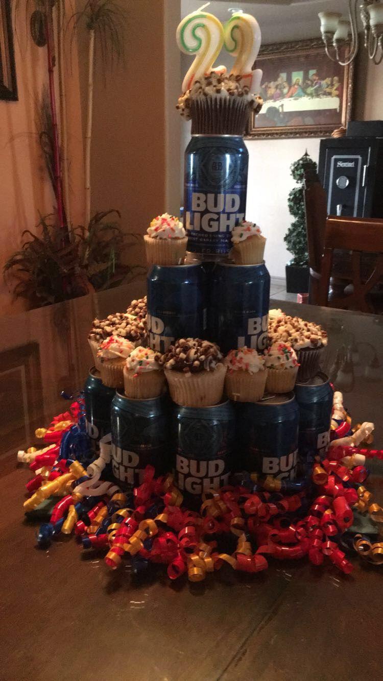 DIY Beer Cake for my boyfriends 22nd bday!! Birthday